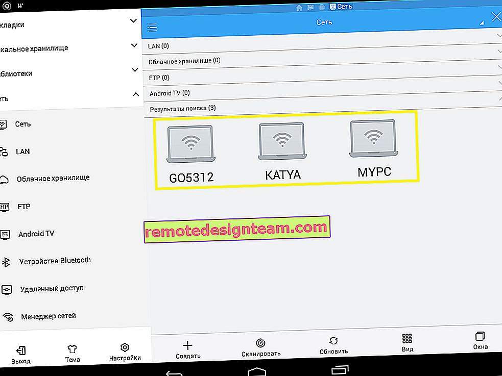 Konfigurowanie sieci lokalnej przez router Wi-Fi między komputerami w systemie Windows 7. Otwieranie współdzielonego dostępu do plików i folderów