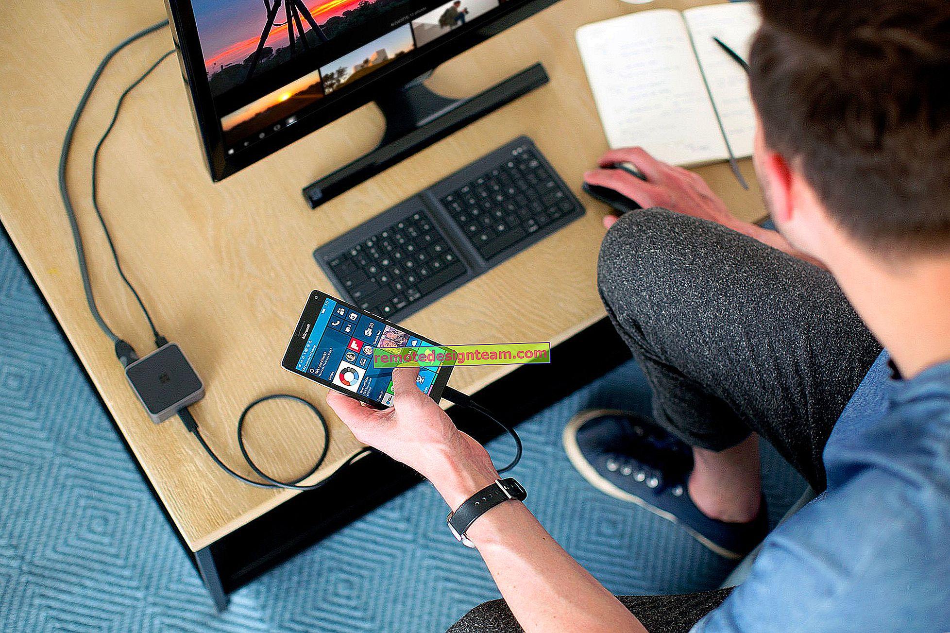 USBケーブルを介したコンピューターのモデムとしてのAndroidフォン