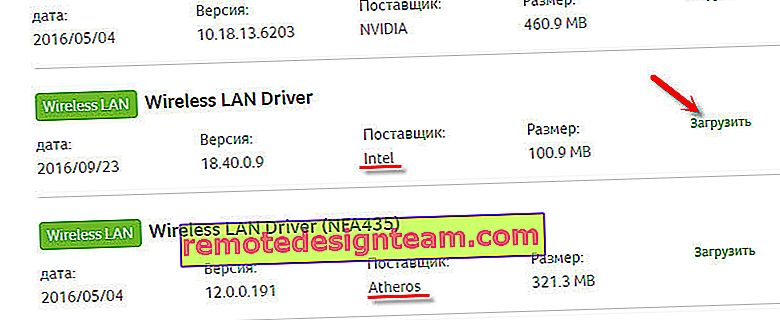 Driver LAN wireless per Acer