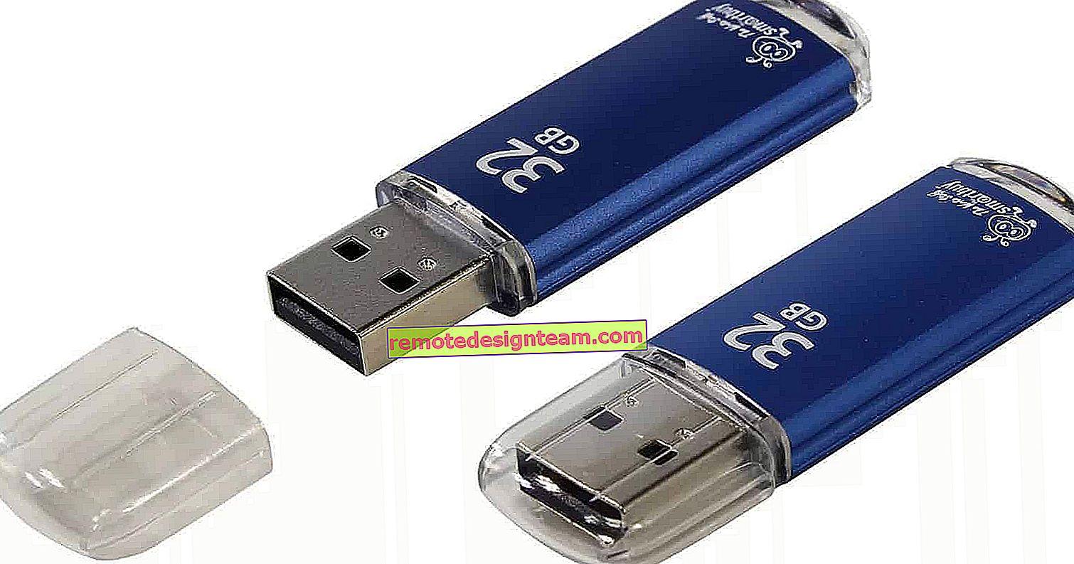 Il televisore non vede la chiavetta USB (chiavetta USB). Cosa fare?
