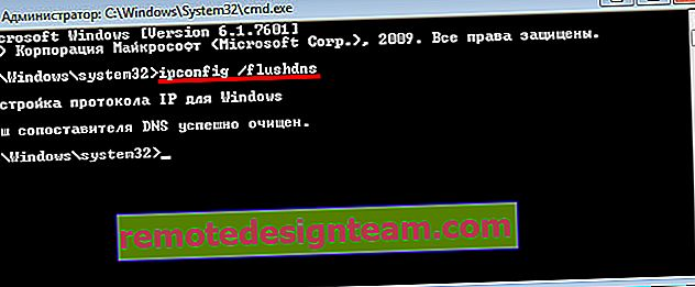 Reimpostazione del DNS in Windows 7