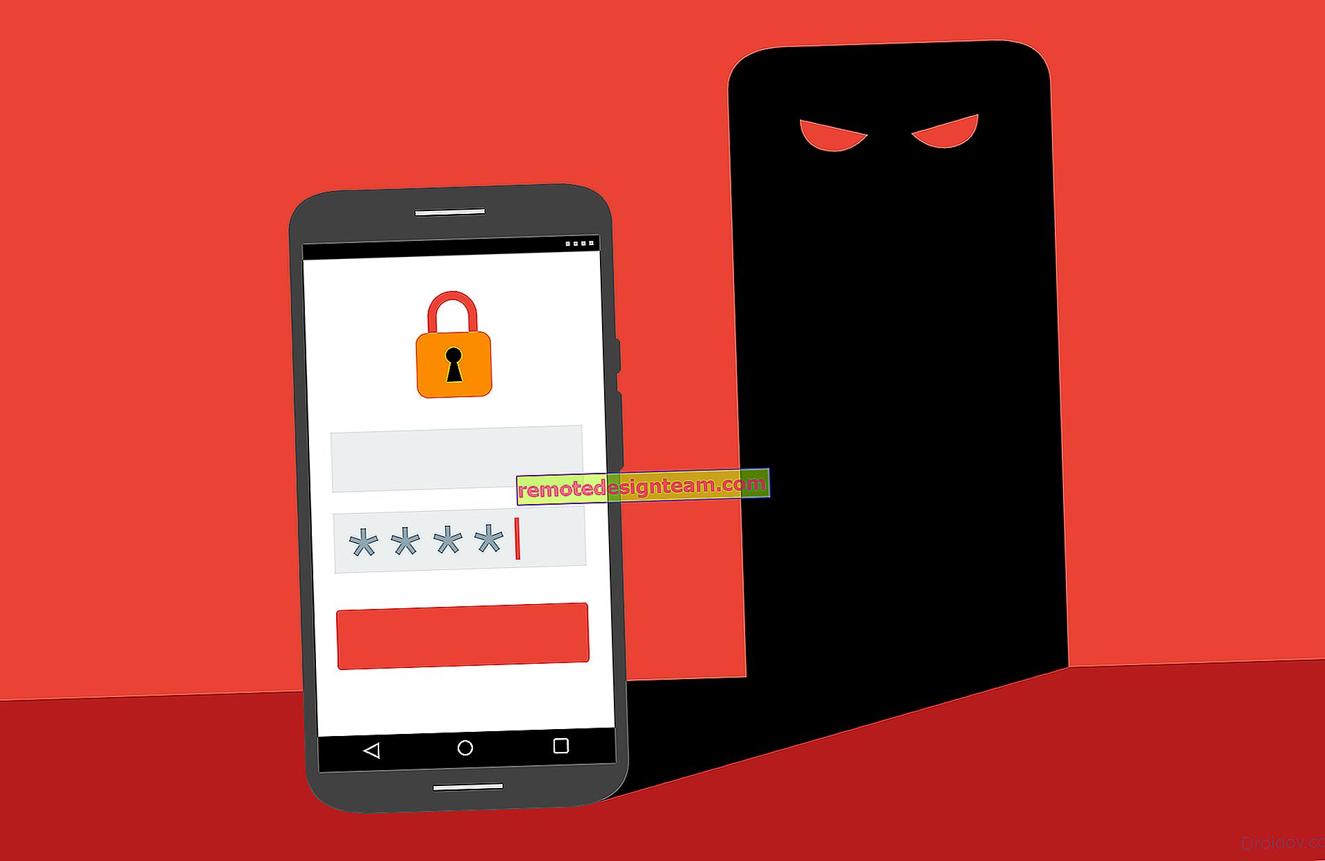Errore di autenticazione Wi-Fi su telefono Android, tablet
