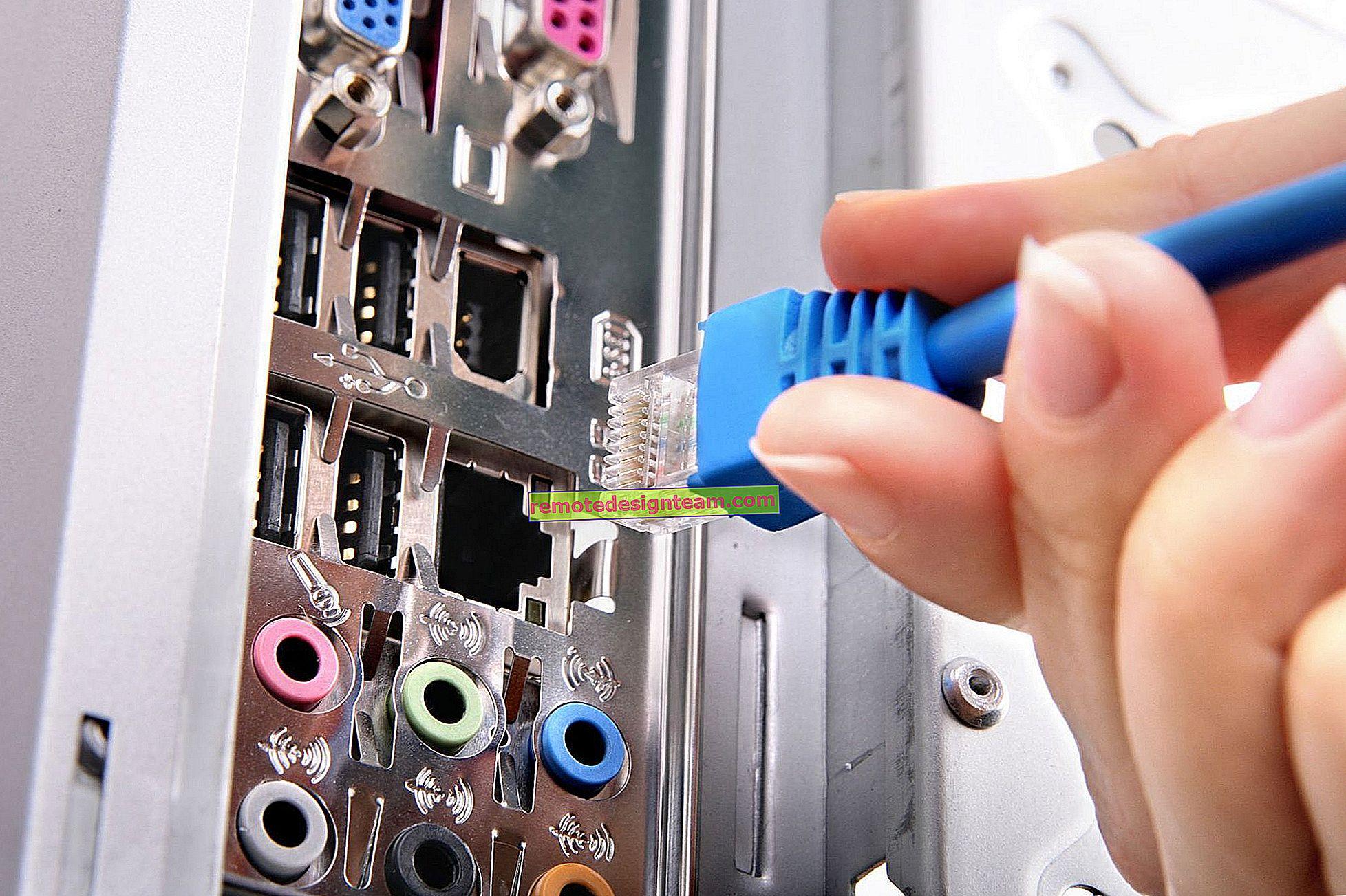 Come allungare il cavo Internet (cavo di rete)?