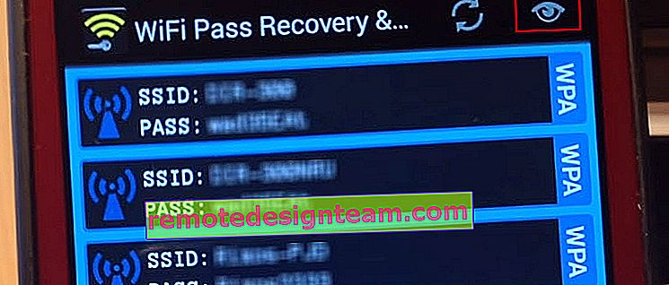 WiFi Pass Recovery mostra tutte le password Wi-Fi su Android