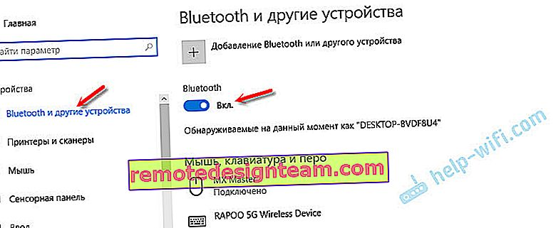 Gdzie jest Bluetooth w Windows 10