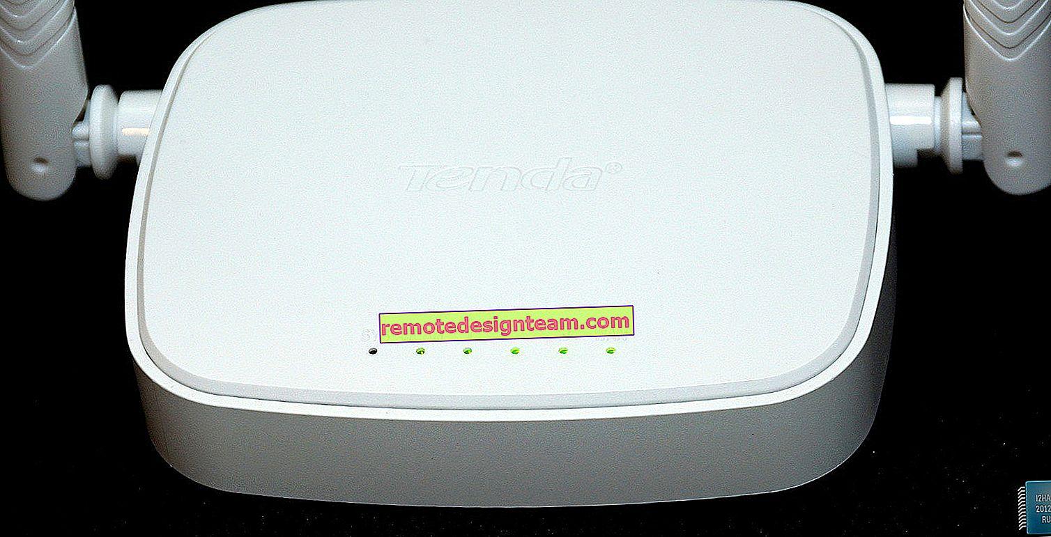 تحديث البرنامج الثابت لجهاز التوجيه Tenda N301