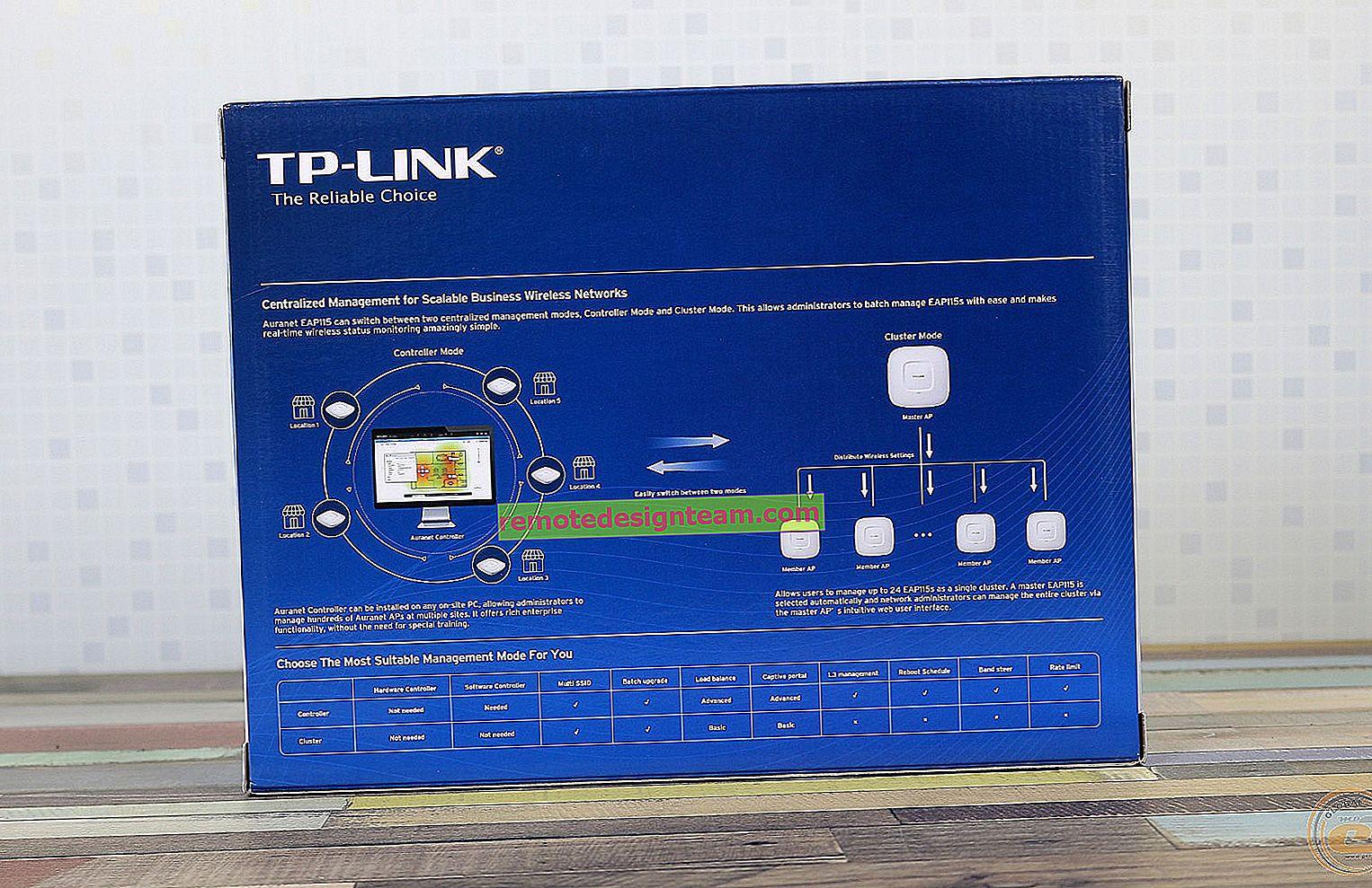 Tinjauan Titik Akses Langit-langit TP-Link EAP115