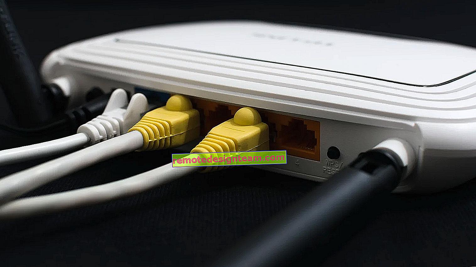 Bagaimana cara memulihkan router Tp-Link setelah firmware yang gagal?