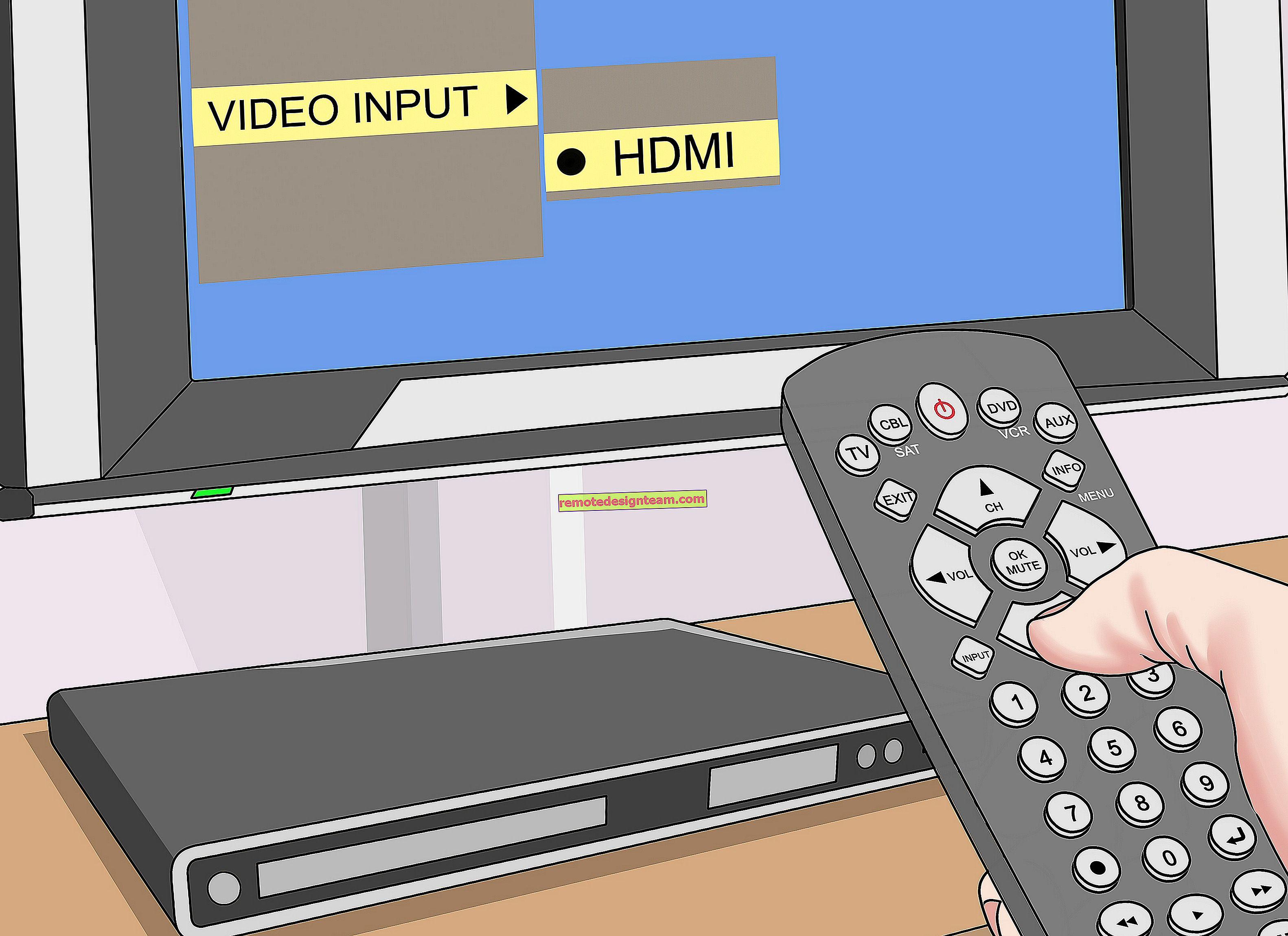 Як підключити телевізор до комп'ютера через HDMI