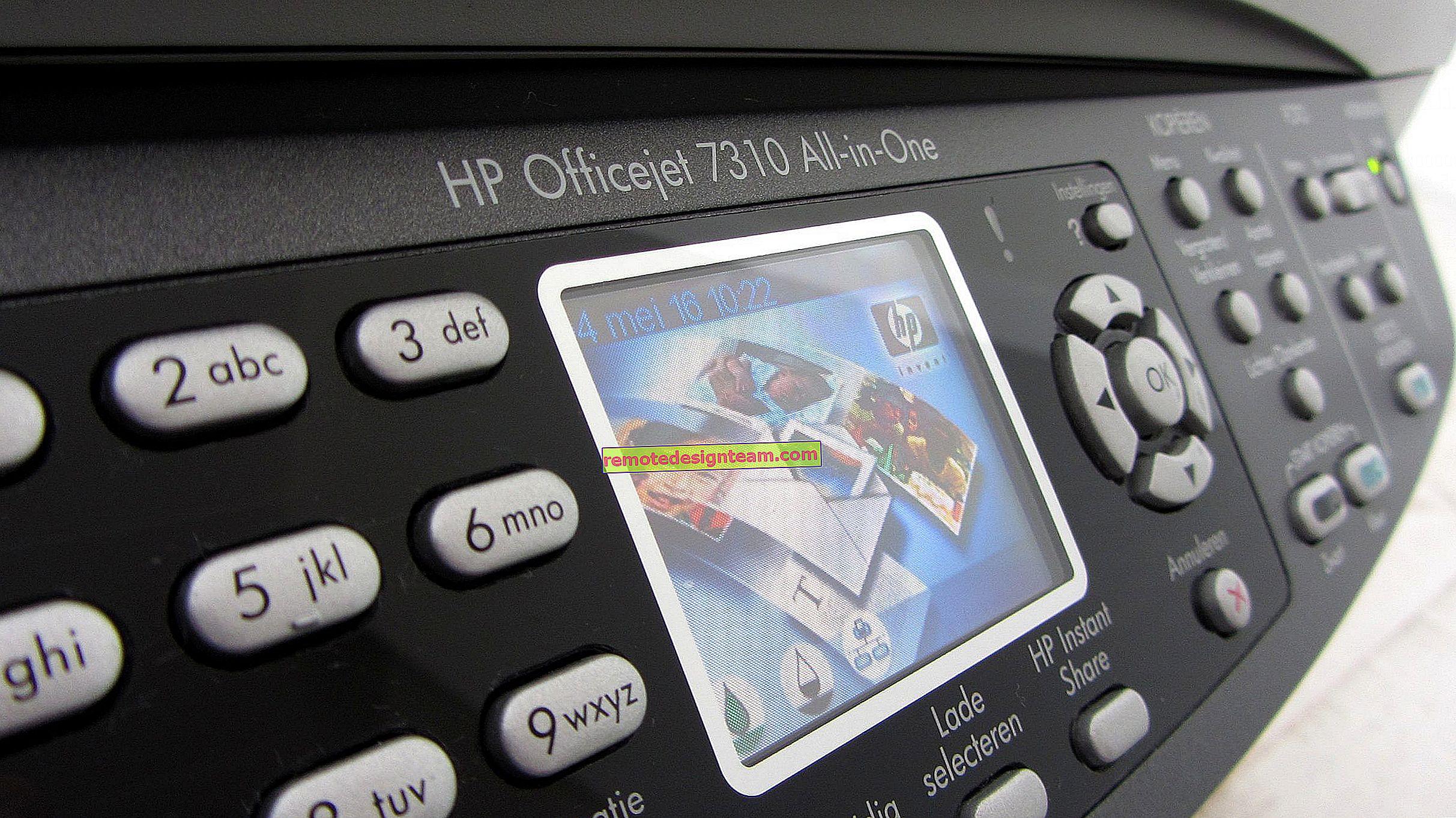 Bagaimana cara menyambungkan pencetak ke Wi-Fi jika tidak ada butang WPS pada penghala?
