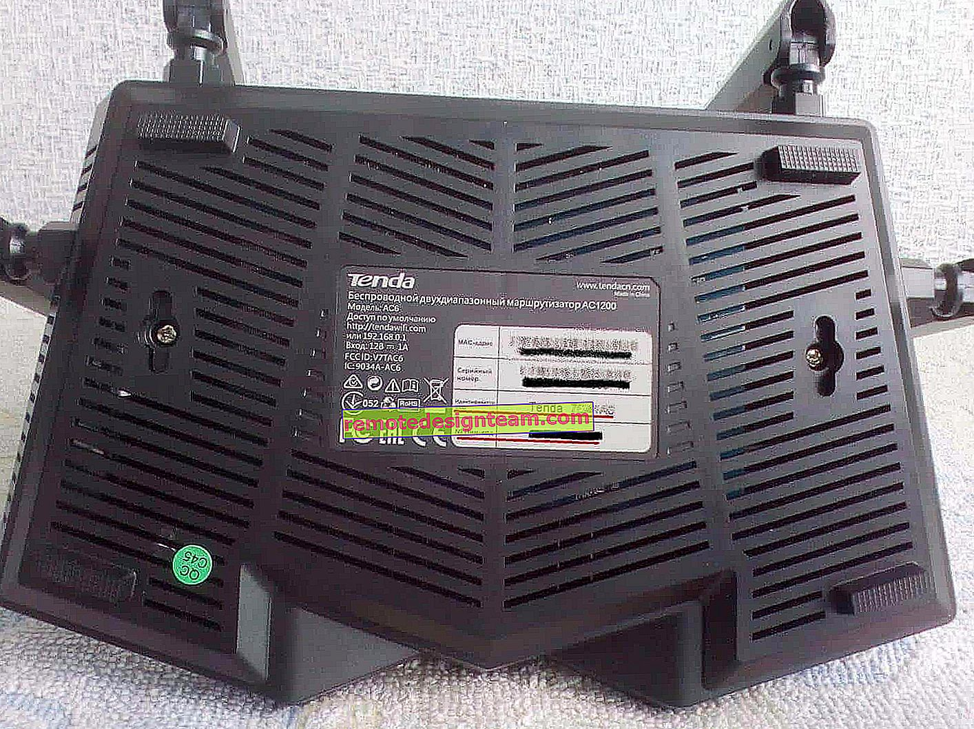 Tetapkan semula kata laluan dan tetapan pada penghala Wi-Fi Tenda