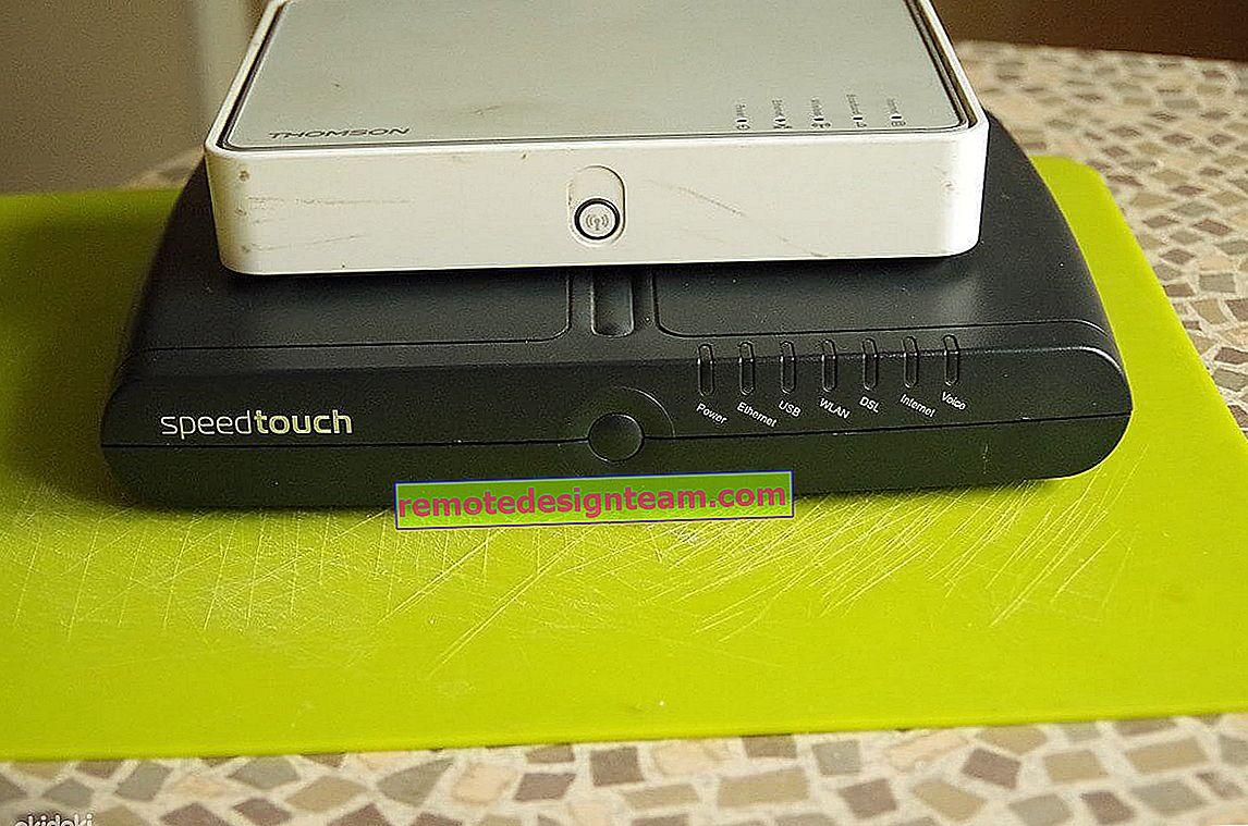 Mengonfigurasi router Upvel dalam mode repeater, atau klien jaringan Wi-Fi