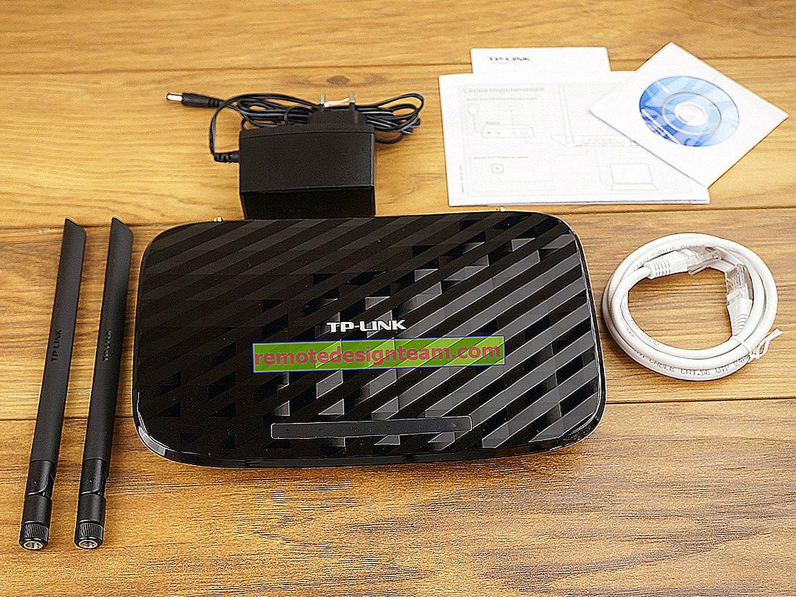 Router TP-Link Archer C2 dan modem USB 3G / 4G