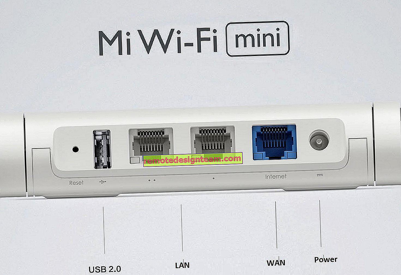الوصول إلى محرك USB لجهاز Xiaomi Mini Wifi Router