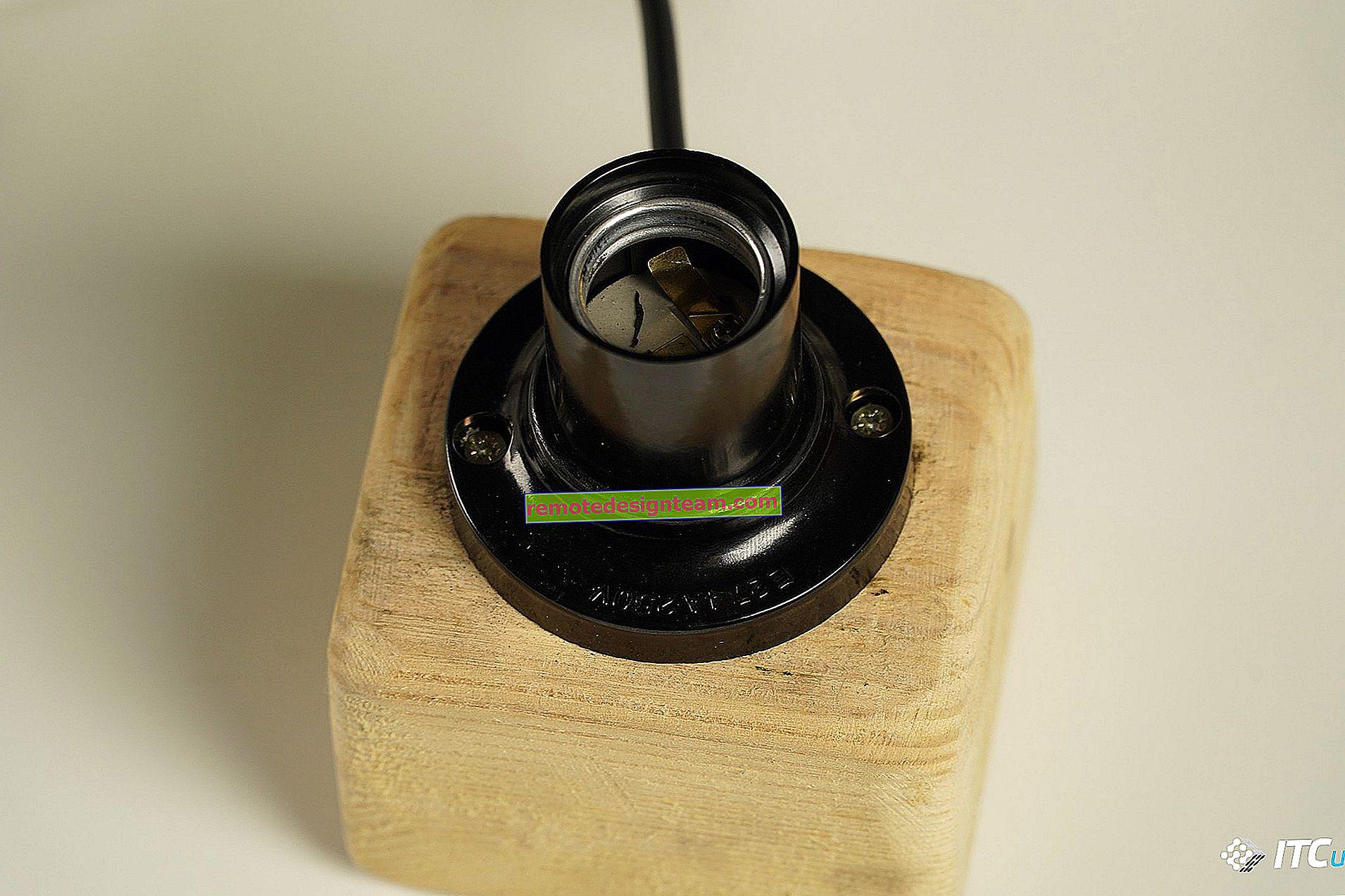 Bola lampu pintar dari TP-Link: koneksi, konfigurasi, kontrol