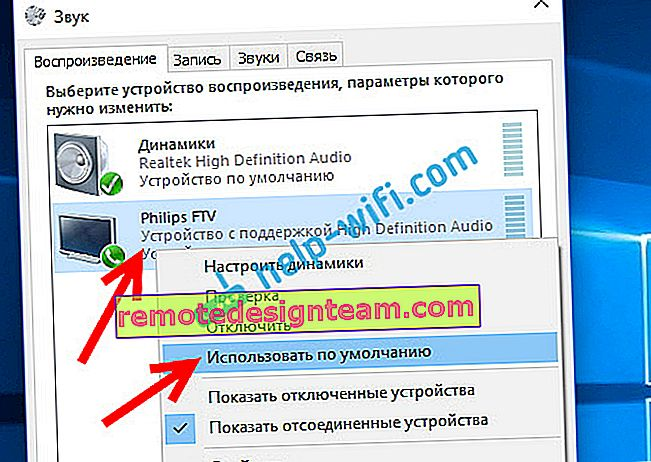 Configurazione dell'audio HDMI in Windows 10